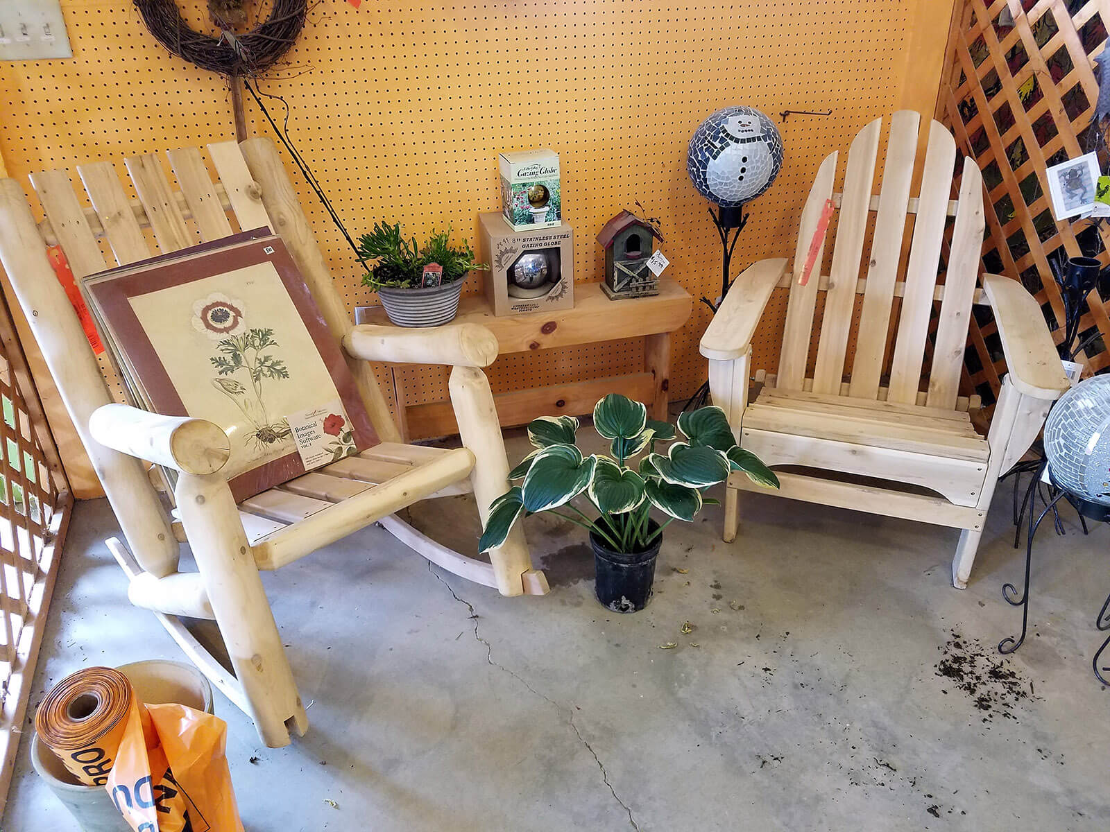 Abell Nursery - Garden Center - Bloomington - Tree Farm - Cedar Patio Furniture Chairs